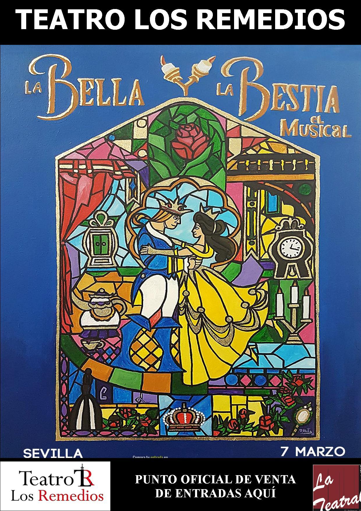 teatro los remedios - La Bella y la Bestia