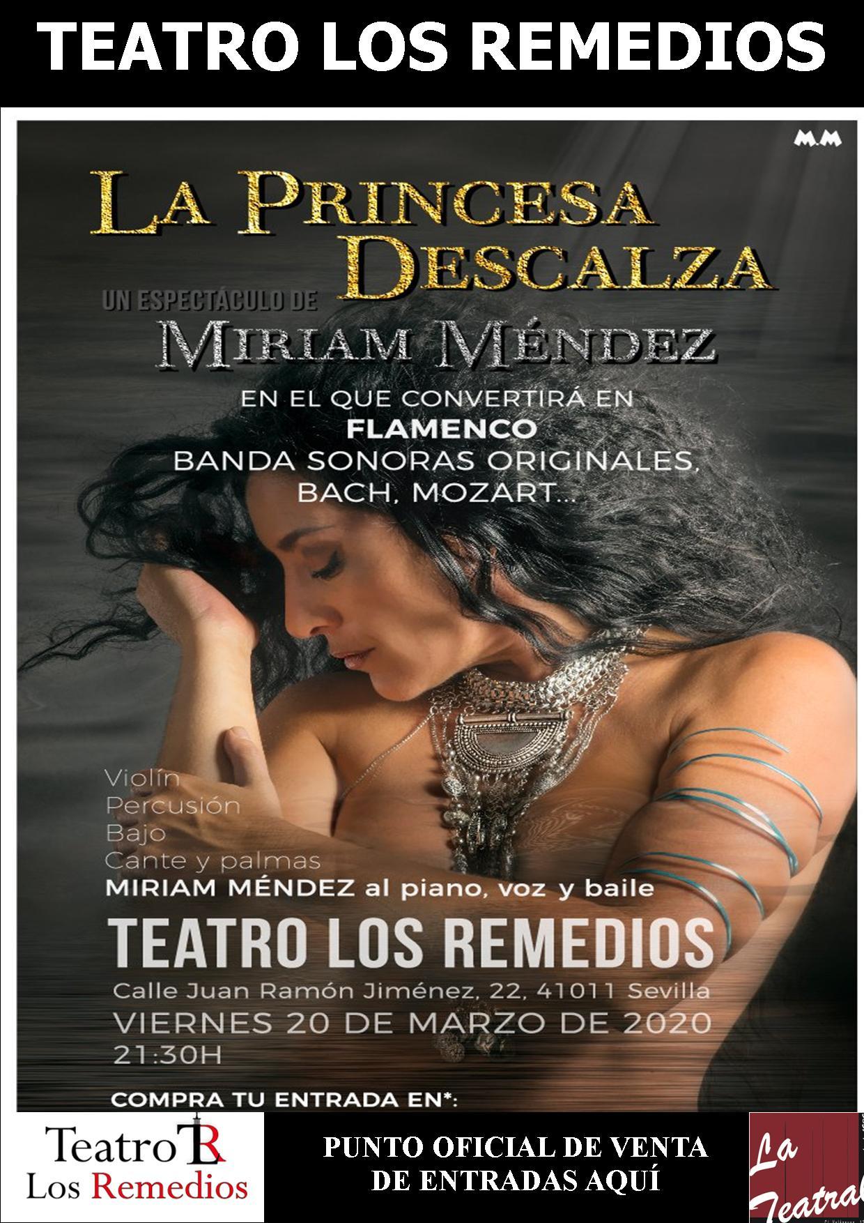 teatro los remedios - La princesa Descalza