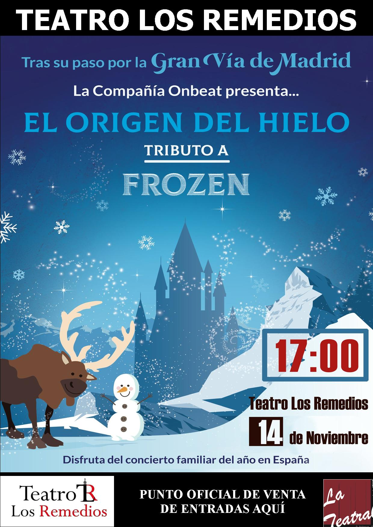teatro los remedios - Tributo a Frozen